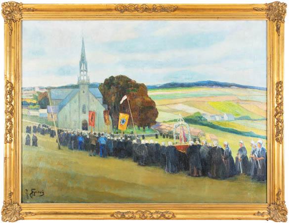 Procesí k sv. Anně (v Bretani)