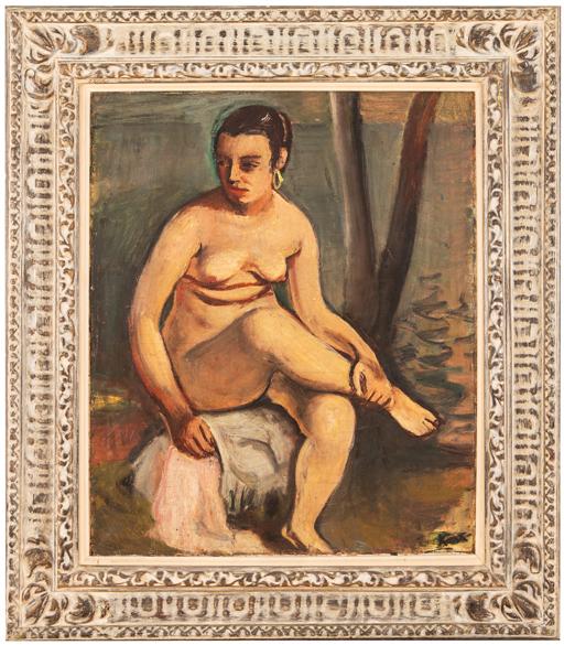 Kars Jiří (Georg), Sedící akt v přírodě