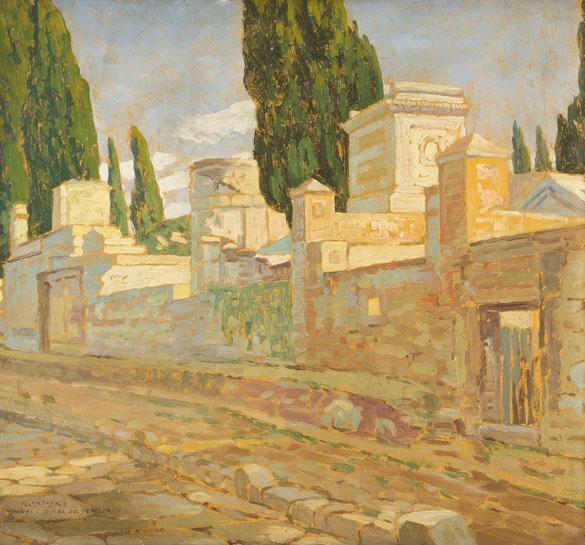 Ulice v Pompejích