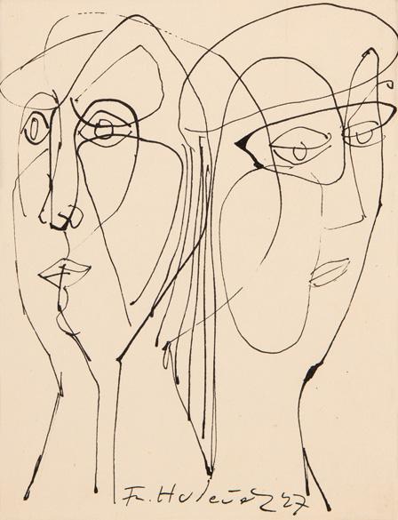 Dvě ženské hlavy