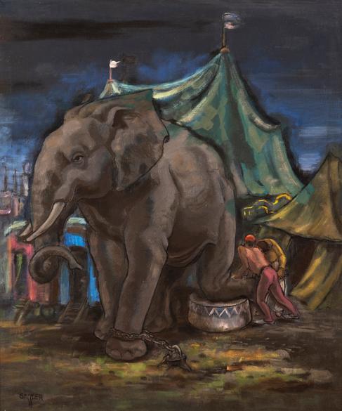 Cirkusový slon