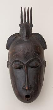 Maska - kmen Baule - Pobřeží Slonoviny
