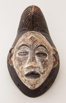 Maska - kmen Ašira - Bapunu (Mpongwe)