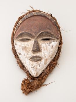 Maska - kmen Ašira - Bapunu, Gabun