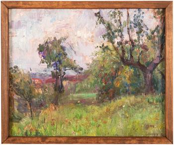 Zahrada v Michli