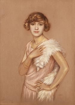 Dívka s perlami