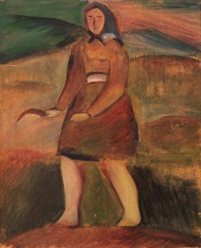 Vesnická dívka