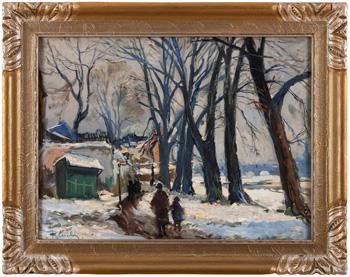 Zimní procházka u Sovových mlýnů