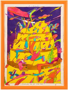 Babylonská věž aneb Žlutý dort