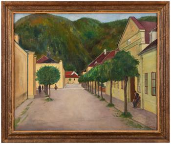 Městečko v Severních Čechách