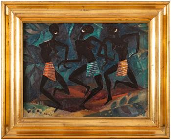 Černé tanečnice