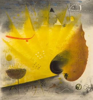 Krajina se žlutým listem