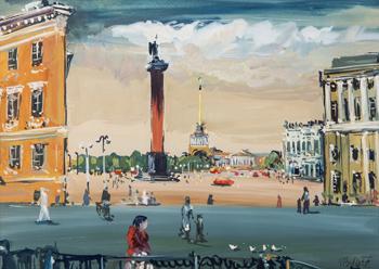Náměstí v Petrohradu